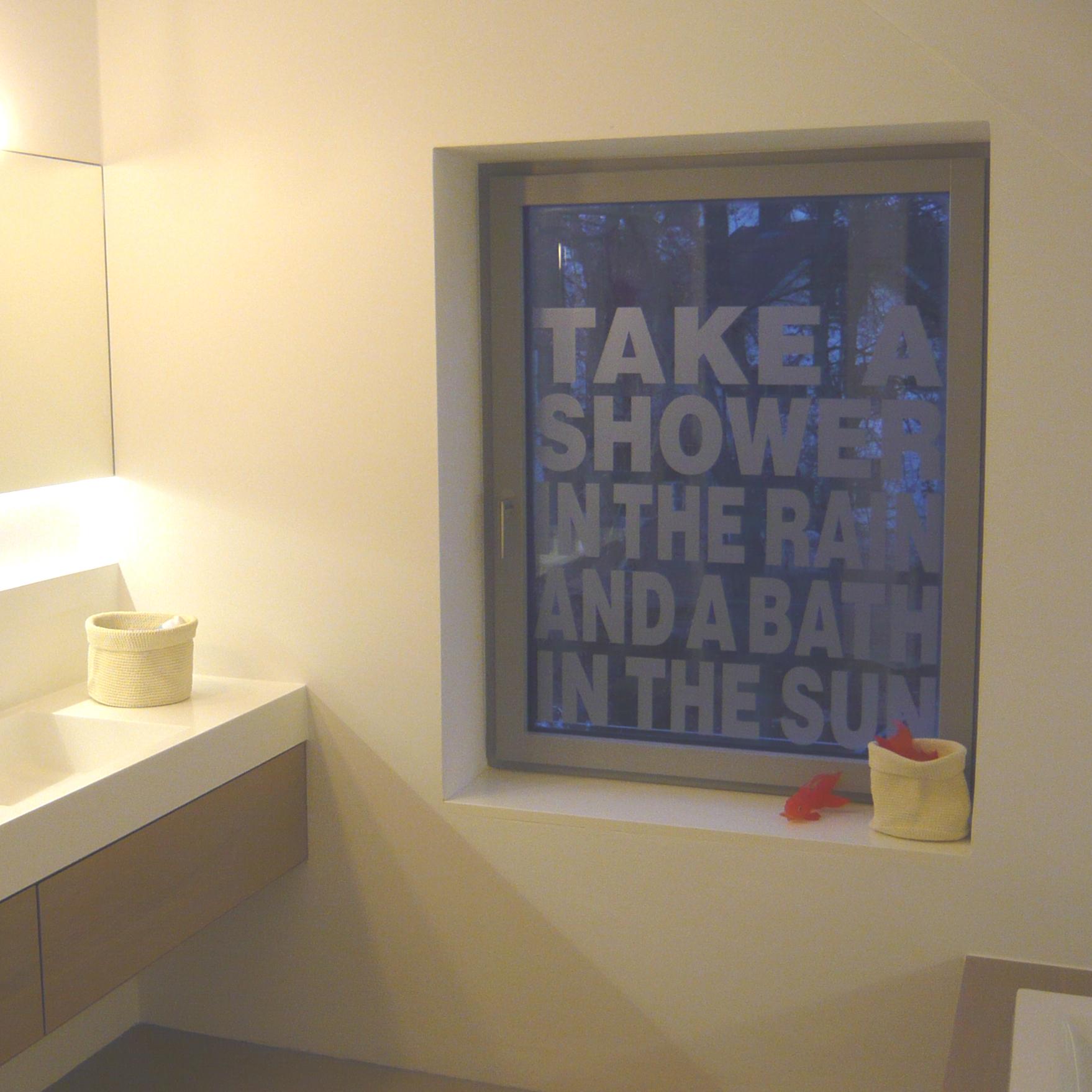 Fensteraufkleber