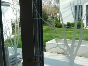 ein kleiner Sichtschutz fürs Fenster: WindowTattoos