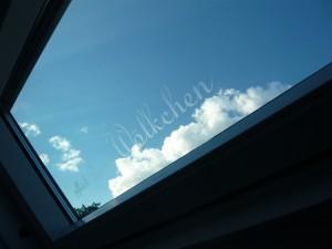 Frostglasfolie beschriftet Ausblicke