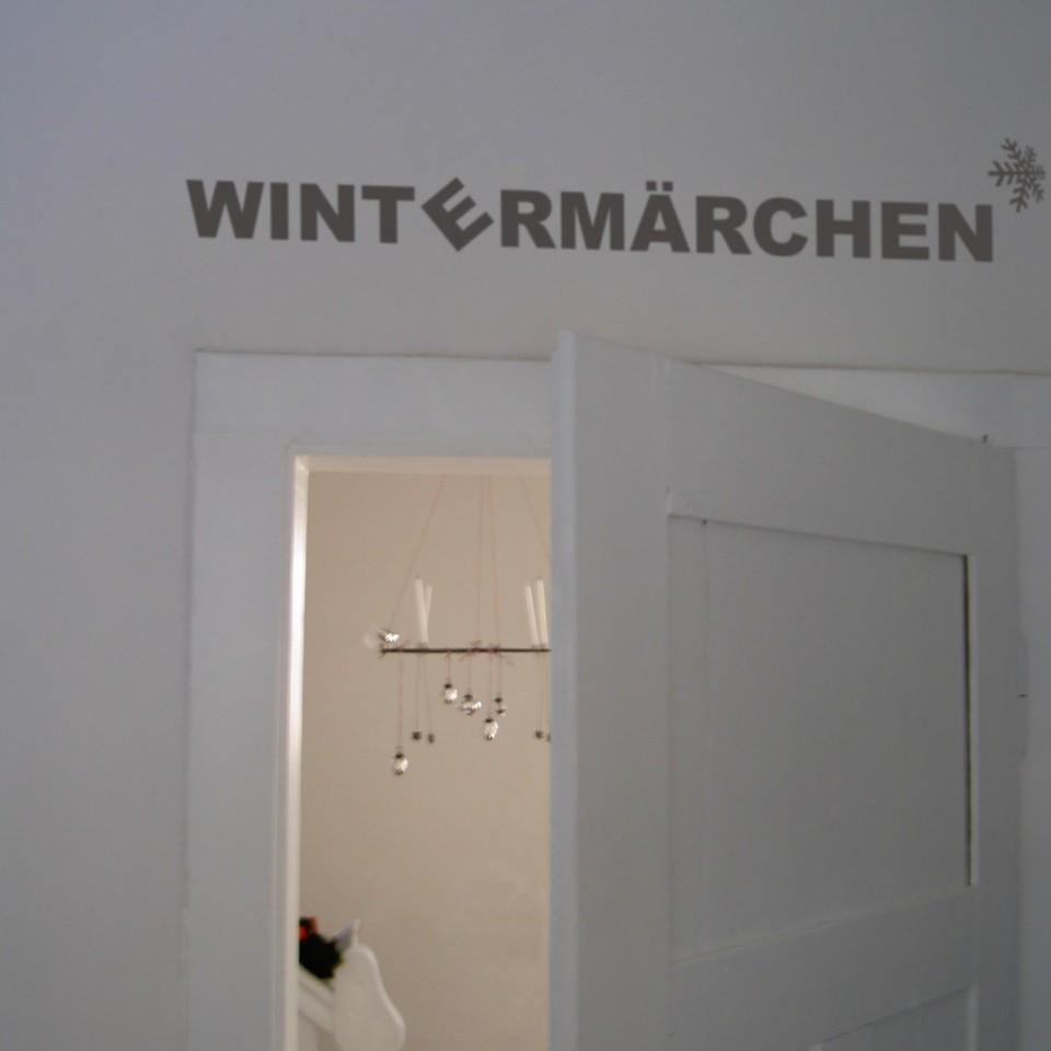 wir verschenken Wintermärchen  -  Wandsticker!