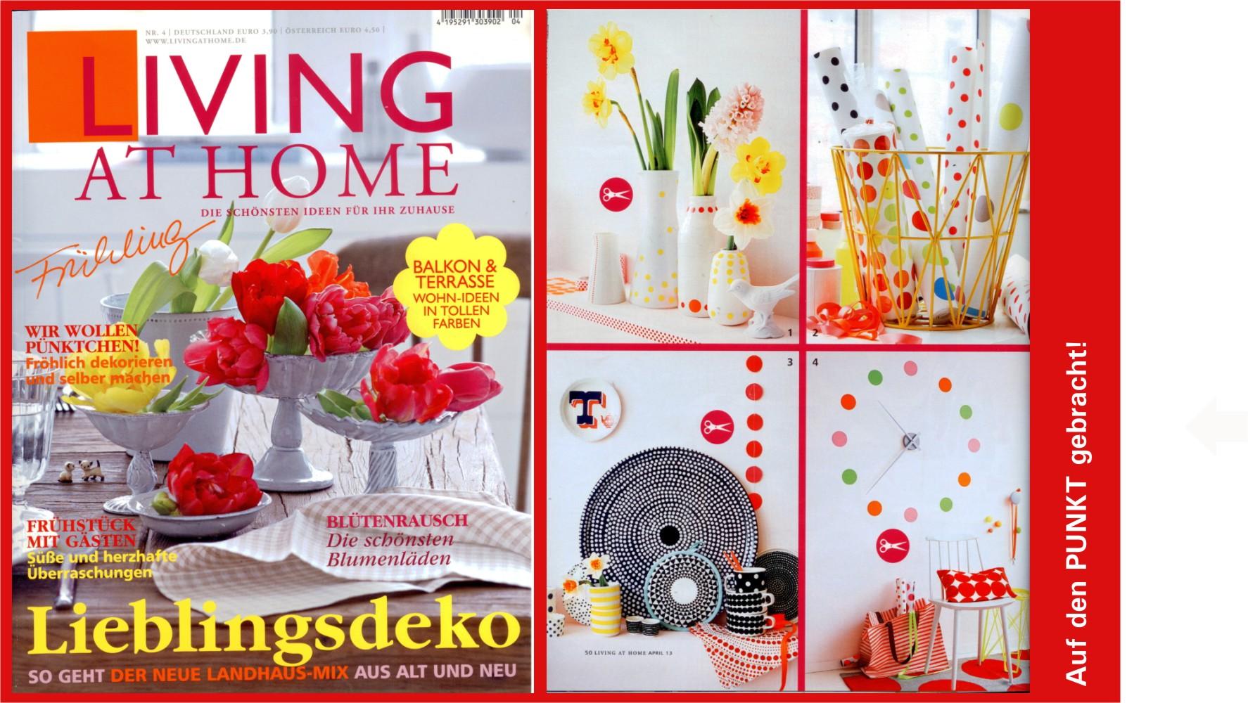 Living at home berichtet über den Salon
