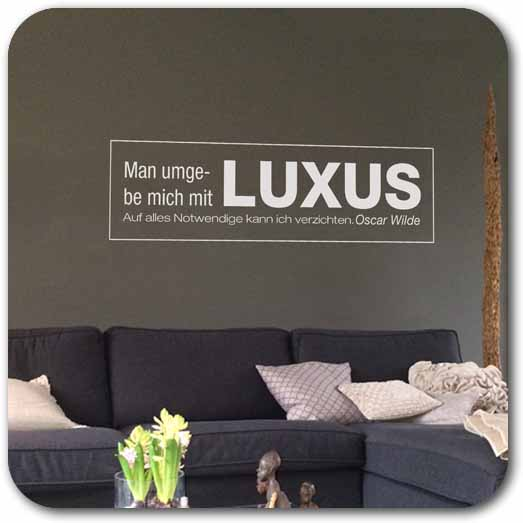 Wallsticker Luxus WandTattoo