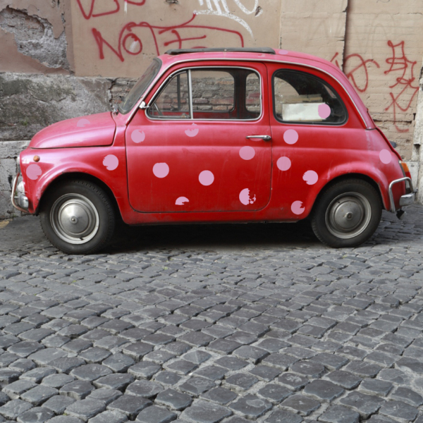 Autoaufkleber für individuelle Wägen