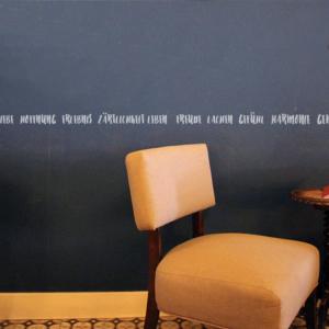 Weise Worte als Bordüre WandTattoo