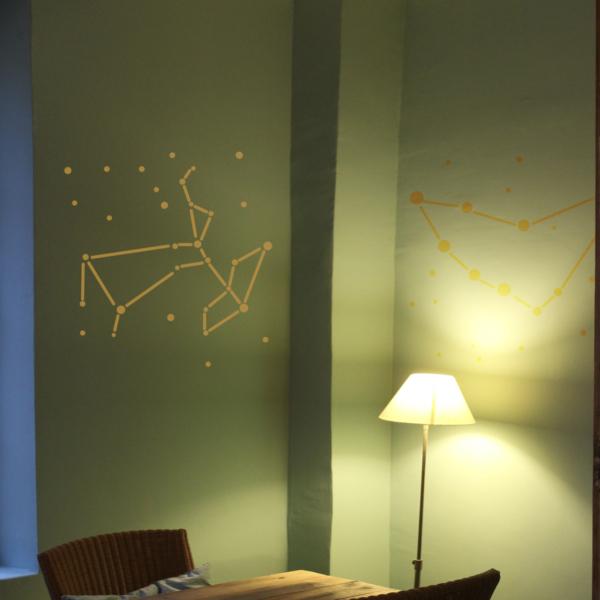 Sternzeichen Schütze WandTattoo