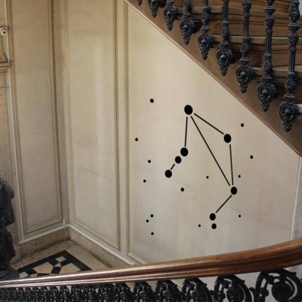 Sternzeichen WandTattoo Waage