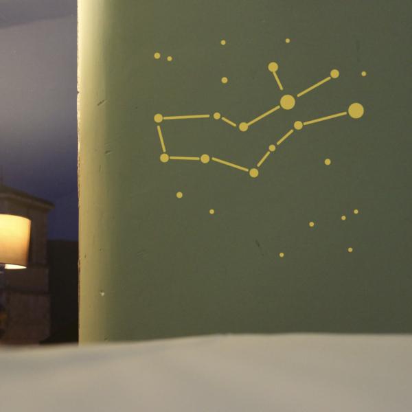 Tierkreiszeichen Jungfrau WandTattoo