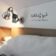 Schlafzimmer Wandaufkleber Schlaf gut und träum was schönes