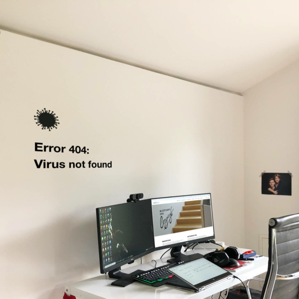 Error 404 Virus not found