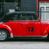 Startnummer Autoaufkleber