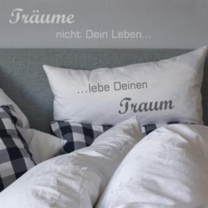 Lebe Deinen Traum TextilTattoo