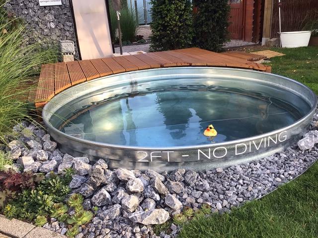 Aufkleber für den kleinen Pool