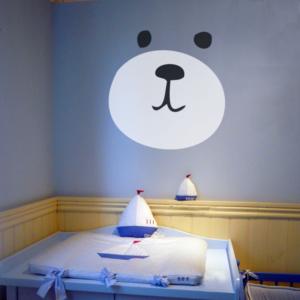 Bär als KinderzimmerAufkleber